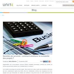 Développer la rentabilité des projets dans une société de services