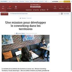 Une mission pour développer le coworking dans les territoires