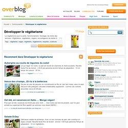 Développer le végétarisme sur OverBlog