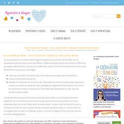 Roue des synonymes des émotions : un outil pour développer le vocabulaire des enfants autour des émotions