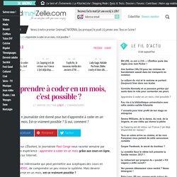 Peut-on devenir développeur en un mois ? — madmoiZelle.com