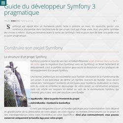 Guide du développeur Symfony 3 pragmatique - Wanadev