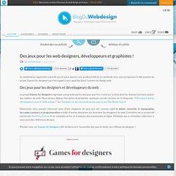 Des jeux pour les web designers, développeurs et graphistes !