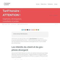 Tarif horaire des graphistes et développeurs : ATTENTION ! · Poppy Jikko · Illustration, Graphisme et Marketing Agile.