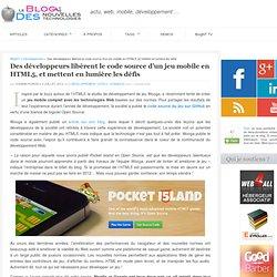 Des développeurs libèrent le code source d'un jeu mobile en HTML5, et mettent en lumière les défis