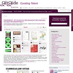 Pinterest : et si les CV devenaient des images ou des infographies