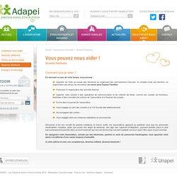 Devenez bénévole - ADAPEI - Les Papillons blancs d'Ille-et-Vilaine