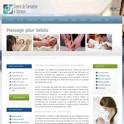 Devenez masseur/masseuse pour bébé à votre rythme grâce au CFD!