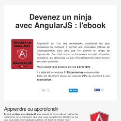 Devenez un ninja avec AngularJS : l'ebook par Ninja Squad