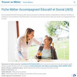 Devenir Accompagnant Éducatif et Social (AES) 2020 Salaire