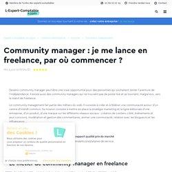 Devenir community manager indépendant