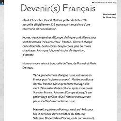 Devenir(s) français temoignages migrants