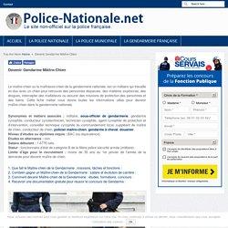 Devenir Gendarme Maître-Chien Gendarmerie