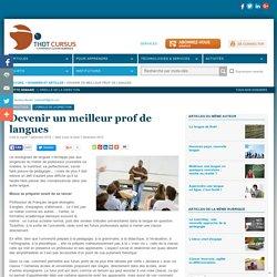 Devenir un meilleur prof de langues