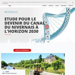 Etude pour le devenir du Canal du Nivernais à l'horizon 2030