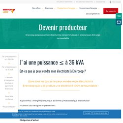 Devenir producteur