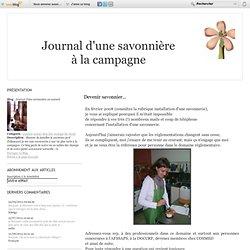 Journal d'une savonnière au naturel
