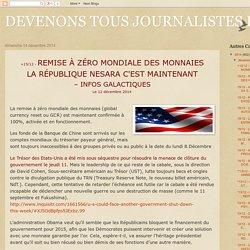 DEVENONS TOUS JOURNALISTES Relayez.