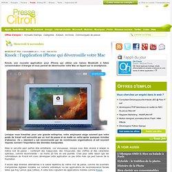 Knock : déverrouiller le Mac en tapant sur l'iPhone
