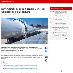 Déversement de pétrole dans le Comté de Strathcona:le BST enquête