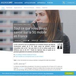 Tout ce que vous devez savoir sur la 5G mobile en France