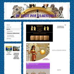 Primeras civilizaciones - Página web de deviajeporlahistoria