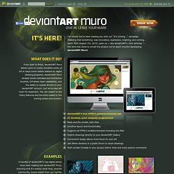 News: deviantART Muro: It's Time to Draw!