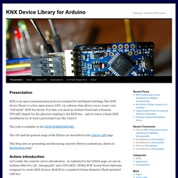 KNX Device Library for Arduino