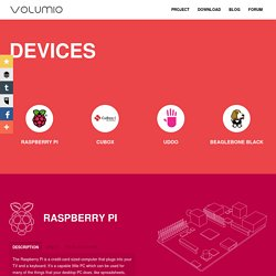 Devices - Volumio