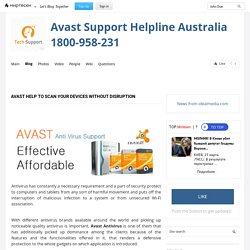 Avast help to scan your devices without disruption