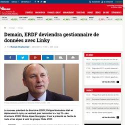 Demain, ERDF deviendra gestionnaire de données avec Linky