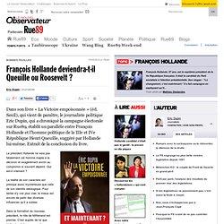 François Hollande deviendra-t-il Queuille ou Roosevelt? | Rue89 Politique
