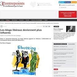 Les blogs libéraux deviennent plus influents