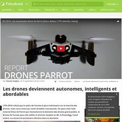 10/2016 Les drones deviennent autonomes, intelligent et abordables