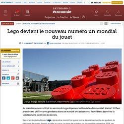 2014 Lego devient le nouveau numéro un mondial du jouet