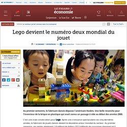 2013 Lego devient le numéro deux mondial du jouet