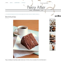 Pastry Affair - Home - Devil's Food Cake