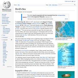 Devil's Sea