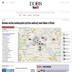 Devine où les sarkozystes (et les autres) vont dîner à Paris