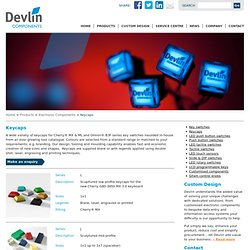 Devlin - Cherry MX keycaps