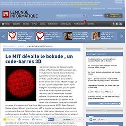 Le MIT dévoile le bokode , un code-barres 3D - Actualités Mobili