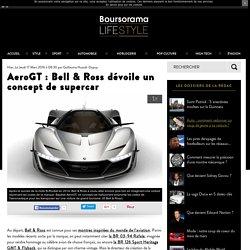 AeroGT : Bell & Ross dévoile un concept de supercar