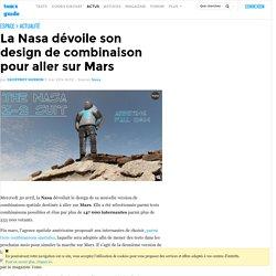 La Nasa dévoile son design de combinaison pour aller sur Mars