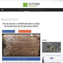 Fin du monde : la NASA dévoile la vidéo du lendemain du 21 décembre 2012