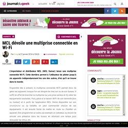 MCL dévoile une multiprise connectée en Wi-Fi