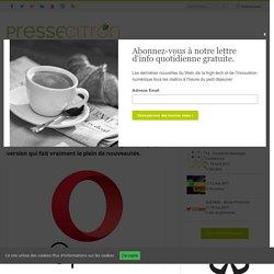Opera 40 dévoile de nombreuses nouveautés dont un VPN gratuit