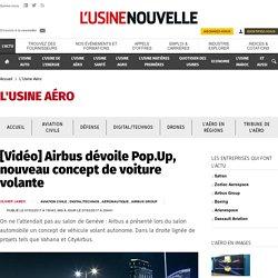 Airbus dévoile un nouveau concept de voiture volante