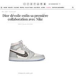 Dior dévoile enfin sa première collaboration avec Nike