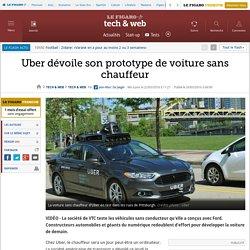 Uber dévoile son prototype de voiture sans chauffeur