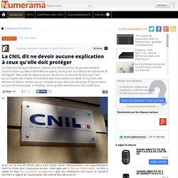 La CNIL dit ne devoir aucune explication à ceux qu'elle doit protéger